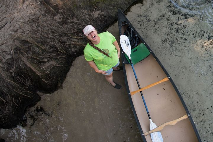Patricia Eaton is one of the core members of the Santa Fe River Turtle Project.