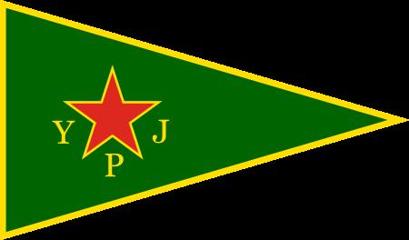Bandera de YPJ