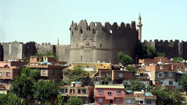 Centro de Dyarbakir, Kurdistán