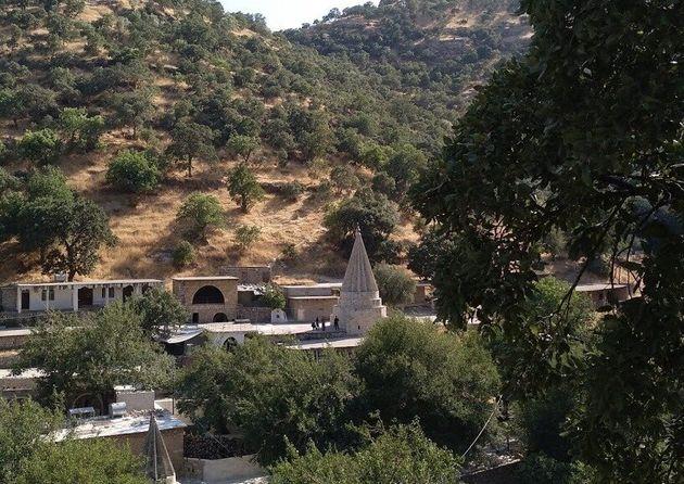 Lalish, localidad sagrada para los