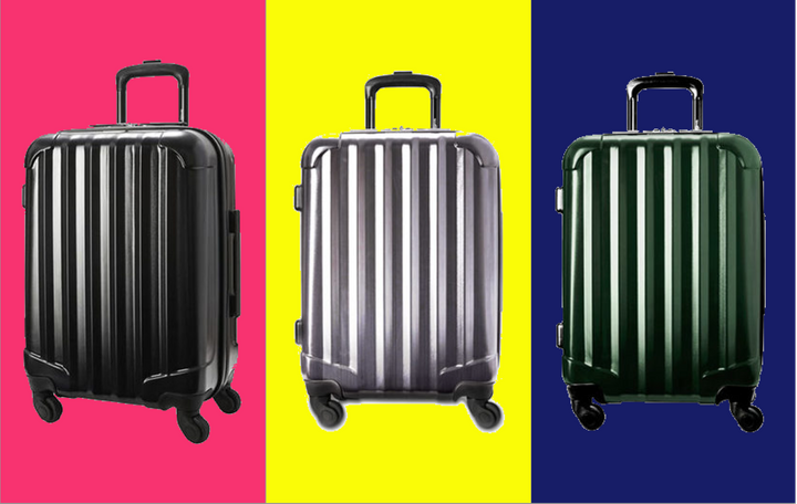 This suitcase is a cheap alternative to Away luggage.