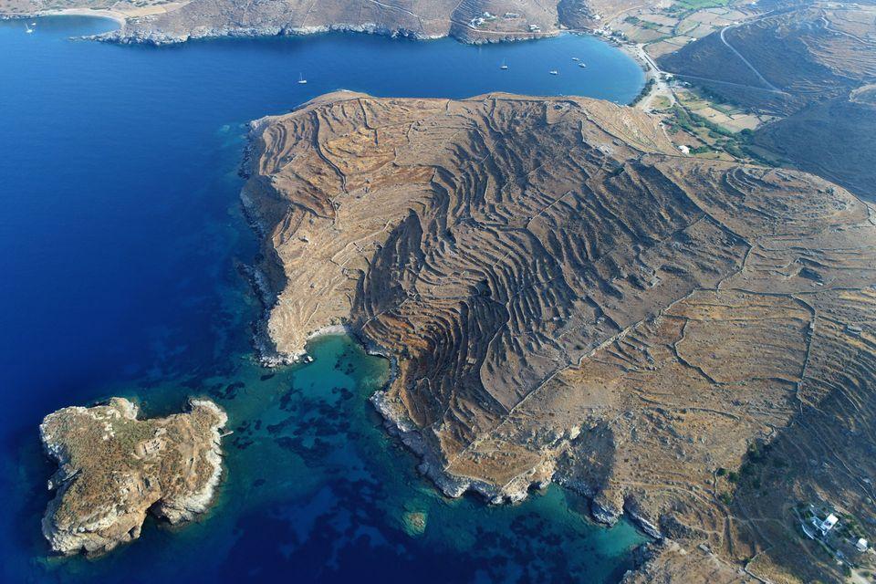Αεροφωτογραφία τηςαρχαίας...