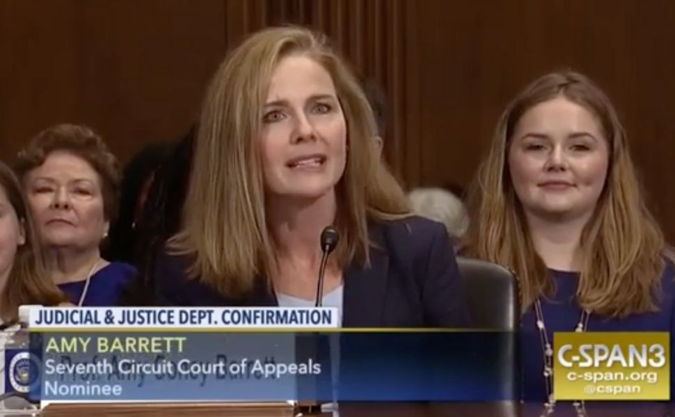 "Amy Coney Barrett thinks Roe v. Wade was ""an erroneous decision"" and also is on Trump's short list for Supreme Court nominees"