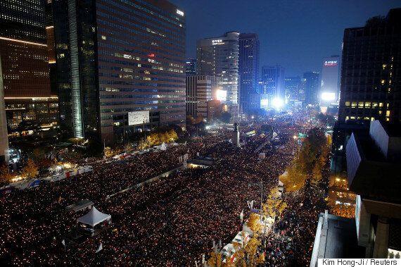 김무성이 새누리당 의원으로는 처음으로 '박근혜 탄핵'을