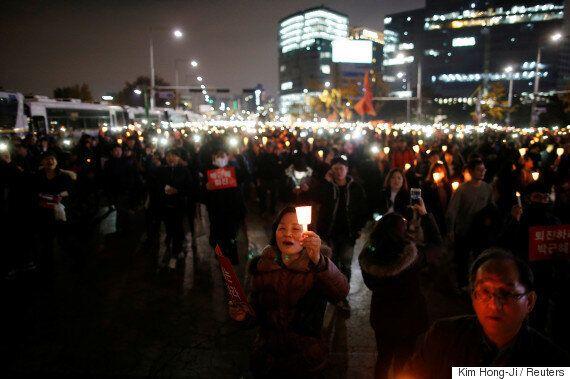 '100만 촛불집회' 시위 규모가 지하철 승객 이용 통계로