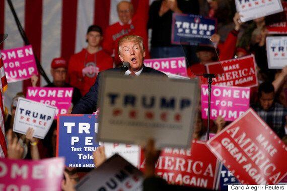 트럼프 지지자 64%는