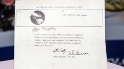 1만 3천원에 산 레코드에는 8천만원 짜리 편지가