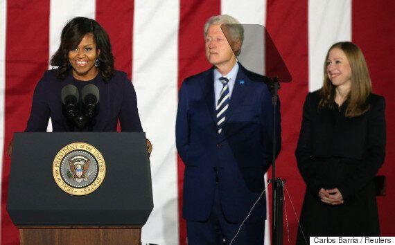 힐러리 클린턴 마지막 유세에서 미셸 오바마가 또 한 번 품격을