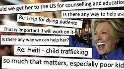 위키리크스가 유출한 이메일들은 힐러리 클린턴이 얼마나 끔찍한 괴물인지