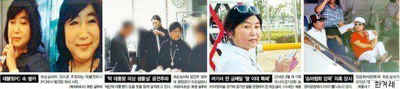 박근혜 대통령과 최태민·최순실 일가의 40년 관계를