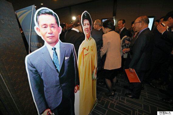 광화문에 박정희 전 대통령의 동상 건립을 추진하는 사람들이