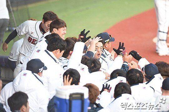 [KS2] '장원준 호투·박건우 결승득점' 두산, 2연승