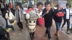 [허프라이브] 10월 29일, '분노의 행진'이