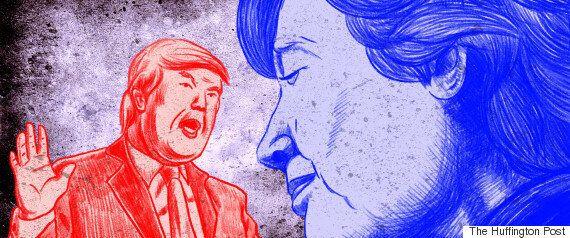 미국 대선 개표가 진행 중인 지금, 클린턴 지지자들은 이런 표정을 짓고