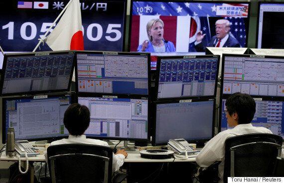 세계 금융시장이 미국 대선 개표 상황에 따라 급등락을