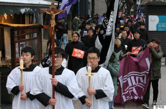 박근혜를 '귀신들린 여종'이라 표현한 신학생 시국선언문의 진짜
