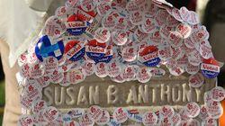 미국 유권자들이 여성 참정권 운동의 대모에게 감사를
