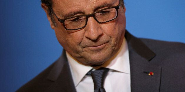 French President Francois Hollande attends