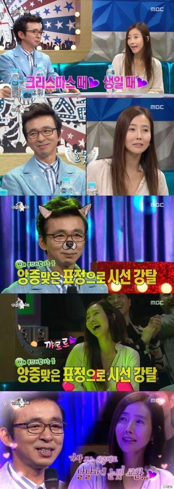 로맨틱 끝판왕..'라스' 김국진♥강수지, 천생연분
