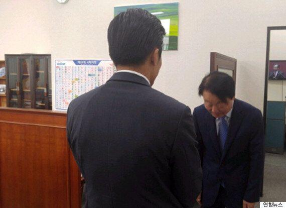 경찰, 경호원 멱살 잡은 한선교 '기소의견'으로 검찰