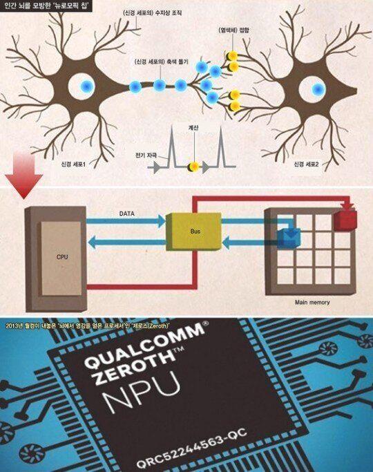 두뇌 신경회로 닮은 컴퓨터 시대