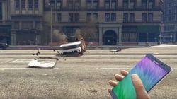 삼성이 '노트7'을 폭탄처럼 쓸 수 있는 GTA 확장팩 동영상을 유튜브에서