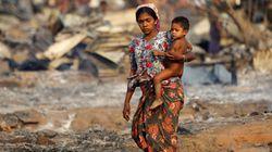 미얀마가 로힝야족 탄압 논란에