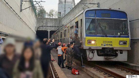 시민들이 지하철에서 1시간 넘게 갇힌 사건에 대한 노동조합의