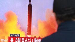 북한 중거리탄도미사일 시험발사