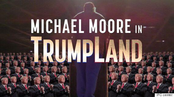마이클 무어는 도널드 트럼프에 관한 영화를 이미