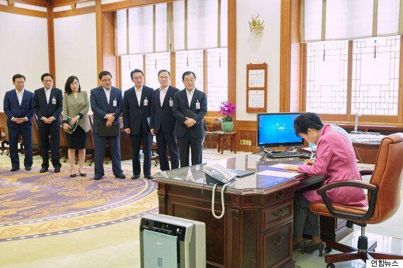 박근혜 대통령이 제안한 '청년희망펀드' 기부자 절반은