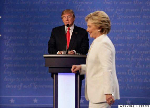 트럼프가 패배를 받아들이기를 거부하며 마지막 토론이