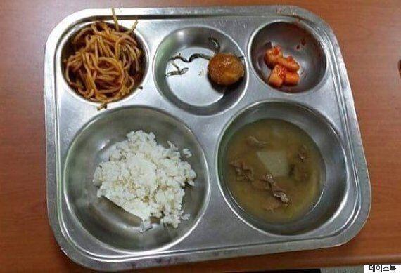 어느 고등학교의 3800원짜리 급식의 수준은 정말