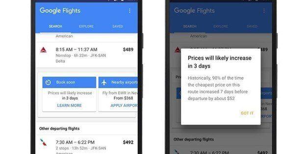 구글이 또 해냈다. '구글 플라이트'가 이제 '비행기표 싸게 사는 방법'을