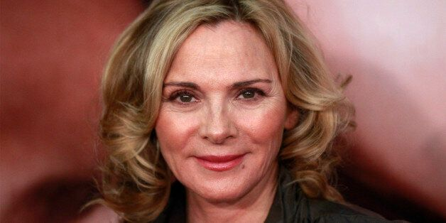 Actress Kim Cattrall arrives for the premiere of the
