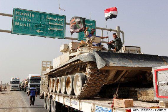 이라크군이 IS의 거점도시 '모술' 탈환 작전을