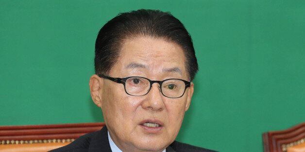 국민의당 박지원 위원장이 공개한 한국의 권력서열에서 '박근혜' 대통령은