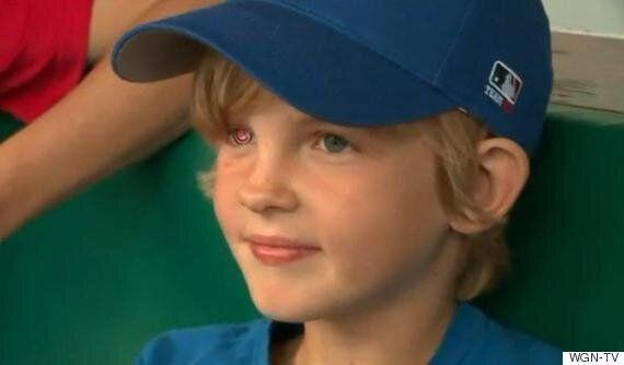 이 7살 소년은 '시카고 컵스'의 눈을 가졌다(사진,