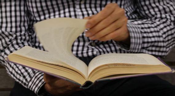 책, 펴지 않고도
