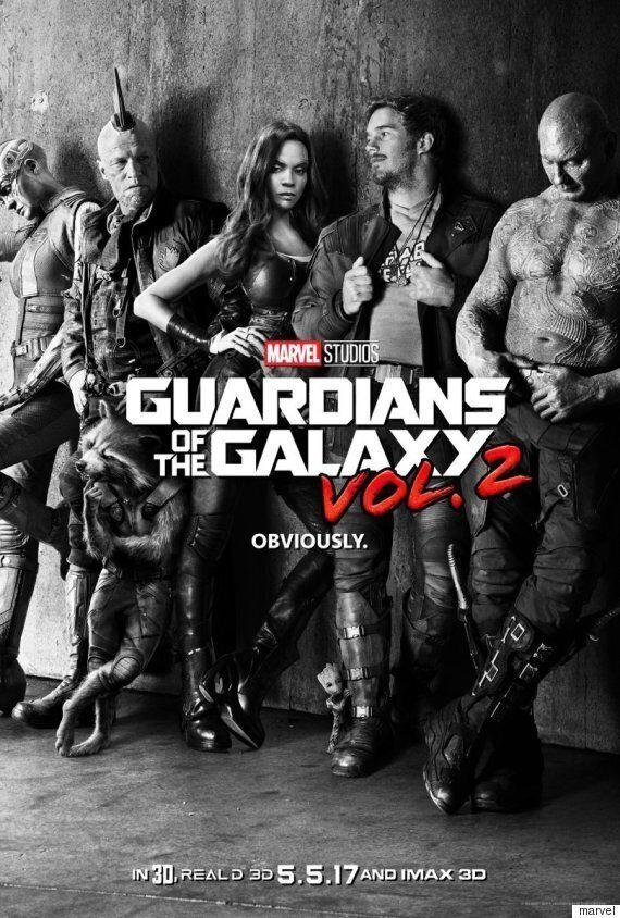 '가디언즈 오브 갤럭시2'의 티저포스터와 예고편이 공개됐다(사진,