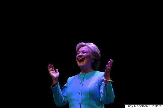 여론조사 결과는 힐러리 클린턴에게 좋은 소식을