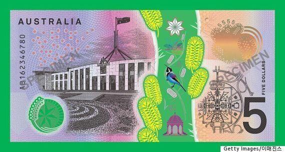 호주의 새 5달러 지폐에는 놀라운 기능이 숨겨져