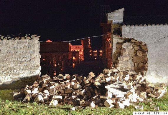 이탈리아 중부에서 또 강진이 2차례 연속