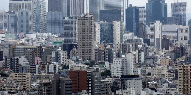 Residential and commercial buildings are pictured in Tokyo, Japan, August 16, 2016. Picture taken on...