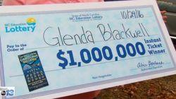 이 여성은 남편에게 복권이 돈 낭비임을 보여주려다 덜컥 복권에