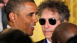 밥 딜런이 오바마를 만났을 때를 생각하면, 지금의 침묵은 별것도