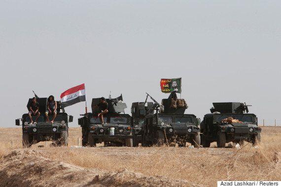 이라크 모술 탈환 군사작전은 '페이스북 라이브'로 생중계되는