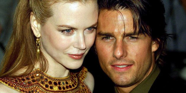 Australian Nicole Kidman and husband Tom Cruise of the U.S. arrive for the U.K. premier of Stanley