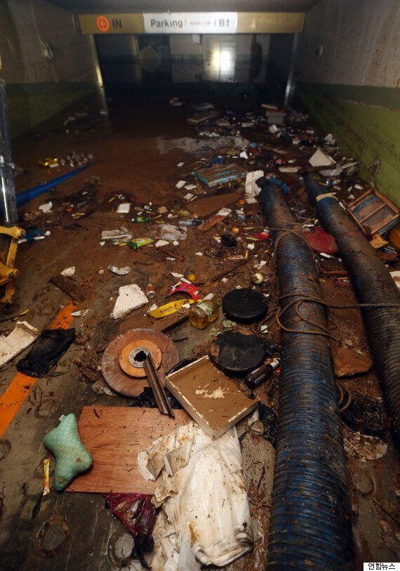 울산의 한 주상복합건물 지하주차장에서 사망자 1명 추가