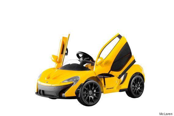 맥라렌이 출시한 최초의 전기차는 6세 이하 어린이만 탈 수
